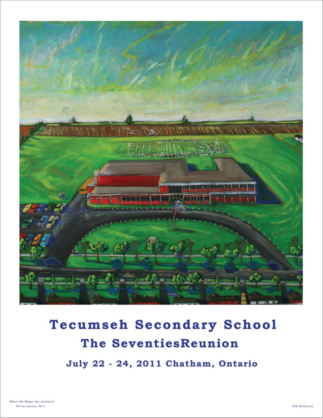 Tecumseh High School Reunion 2011