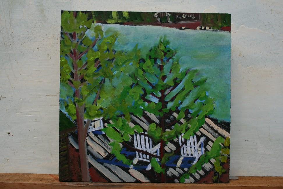 Ross Deck Chairs at Lake Joe