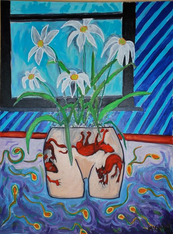 The Spring Kitten Vase